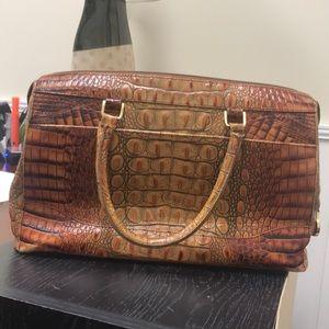 Brahmin faux Alligater bag
